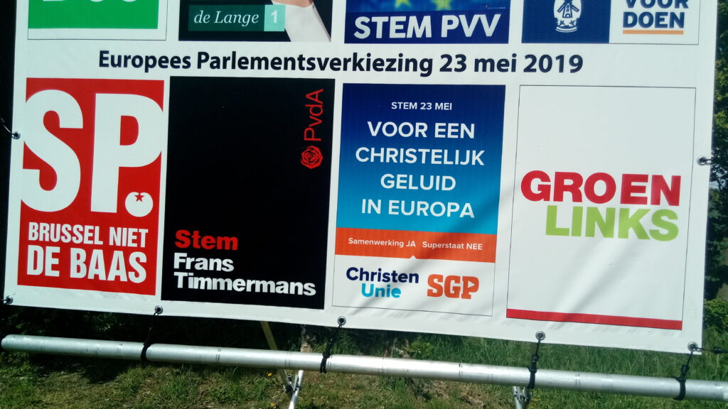 EU election posters in Meeden, Germany. Photo by Donald Trung Quoc Don.
